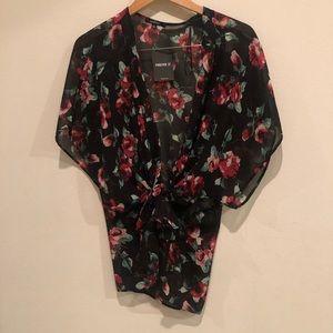 Woven cardigan /S